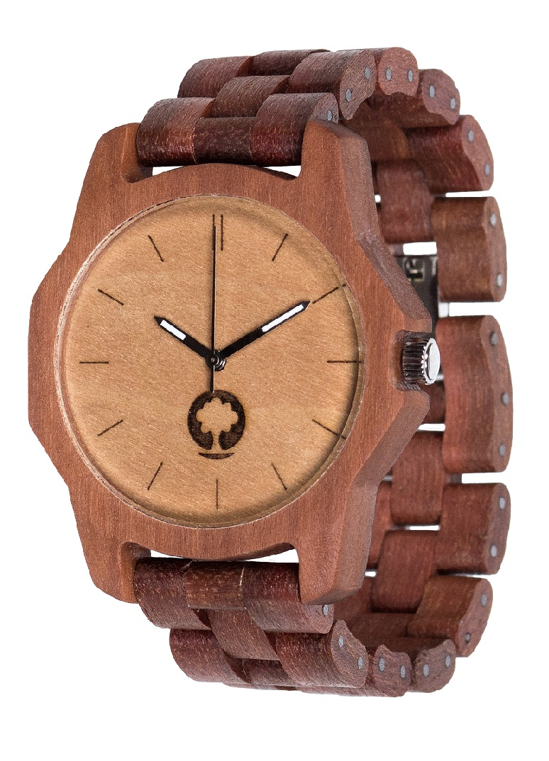 Drewniany zegarek Sierra Massaranduba 2