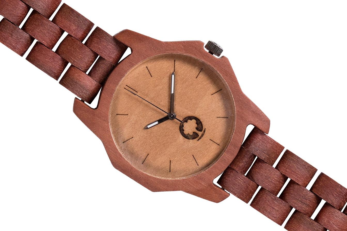 Drewniany zegarek Sierra Massaranduba 3