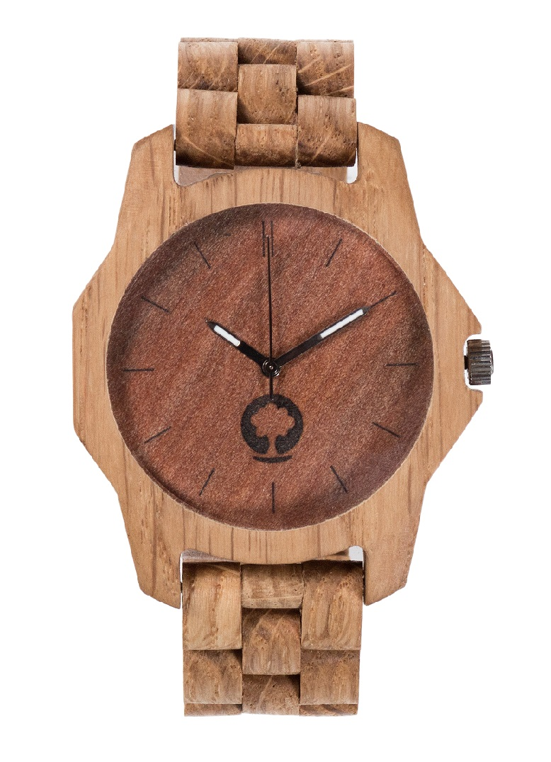 Drewniany zegarek Sierra Oak 1