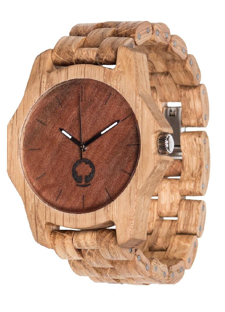 Drewniany zegarek Sierra Oak 2