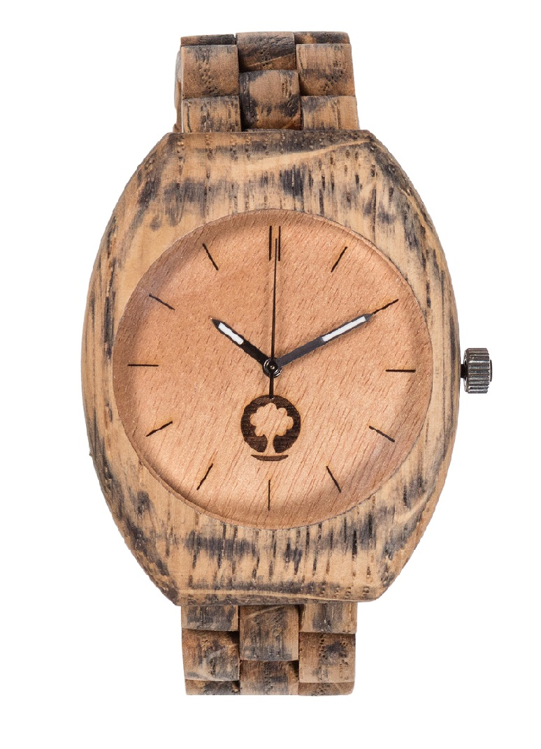 Drewniany zegarek Smooth Oak 1