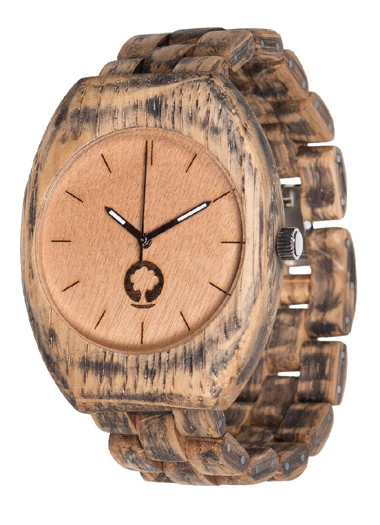 Drewniany zegarek Smooth Oak 2