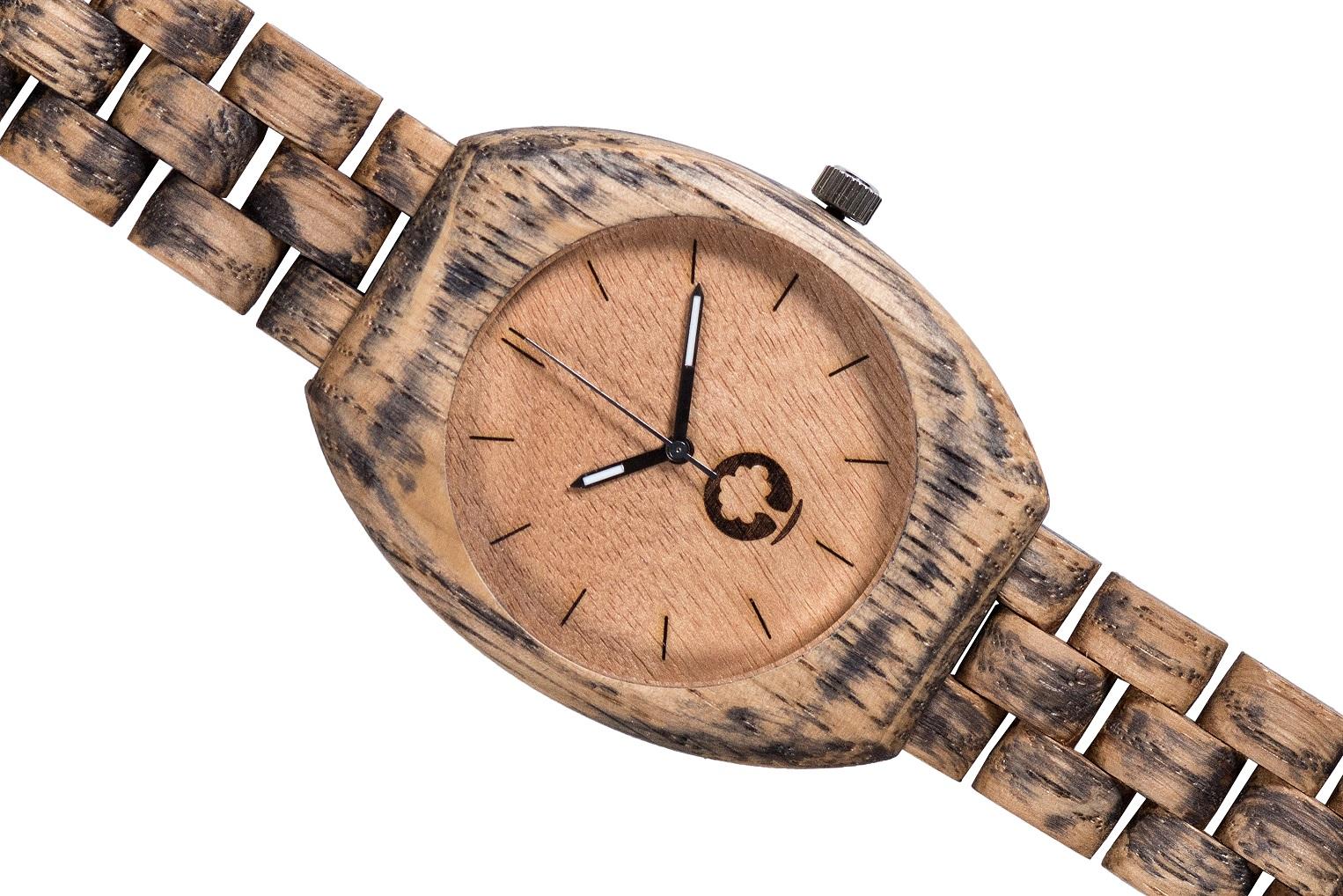 Drewniany zegarek Smooth Oak 3