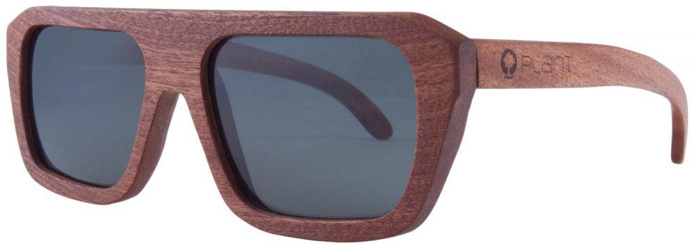 Drewniane okulary Sport Mahogany Grey 2