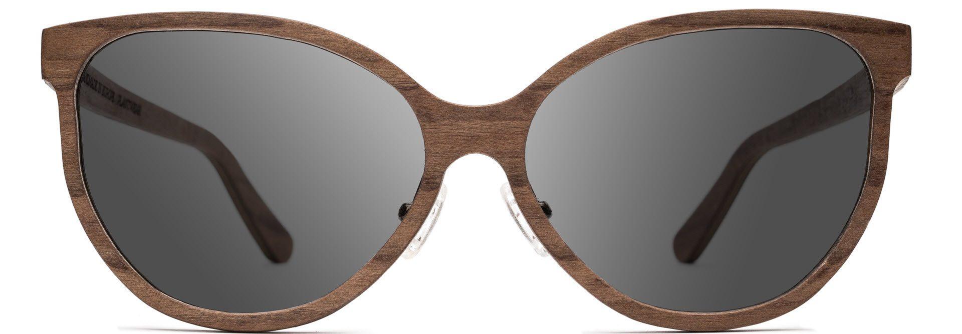 Drewniane okulary Tiger Series – Walnut – Grey 1