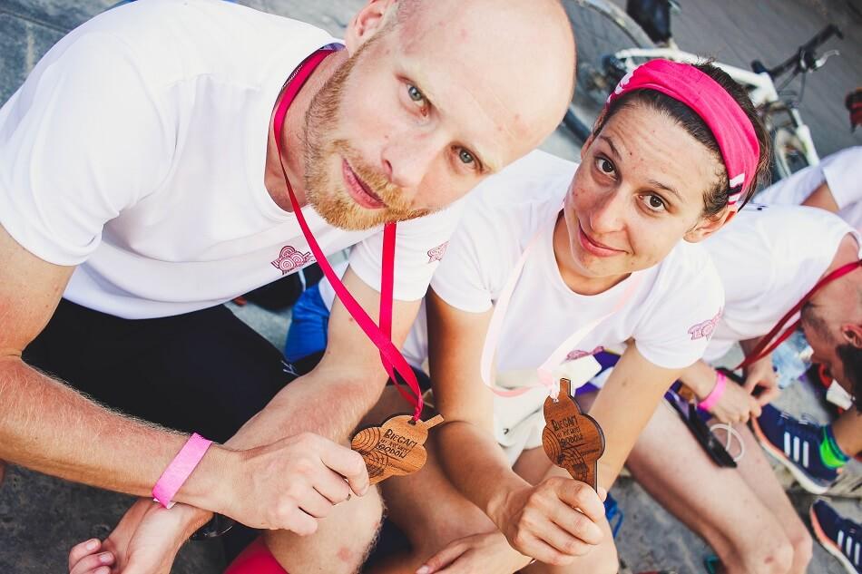 Trening Biegam, aby jeść więcej lodów - zobaczcie jak było! drewniane medale plantwear (2)