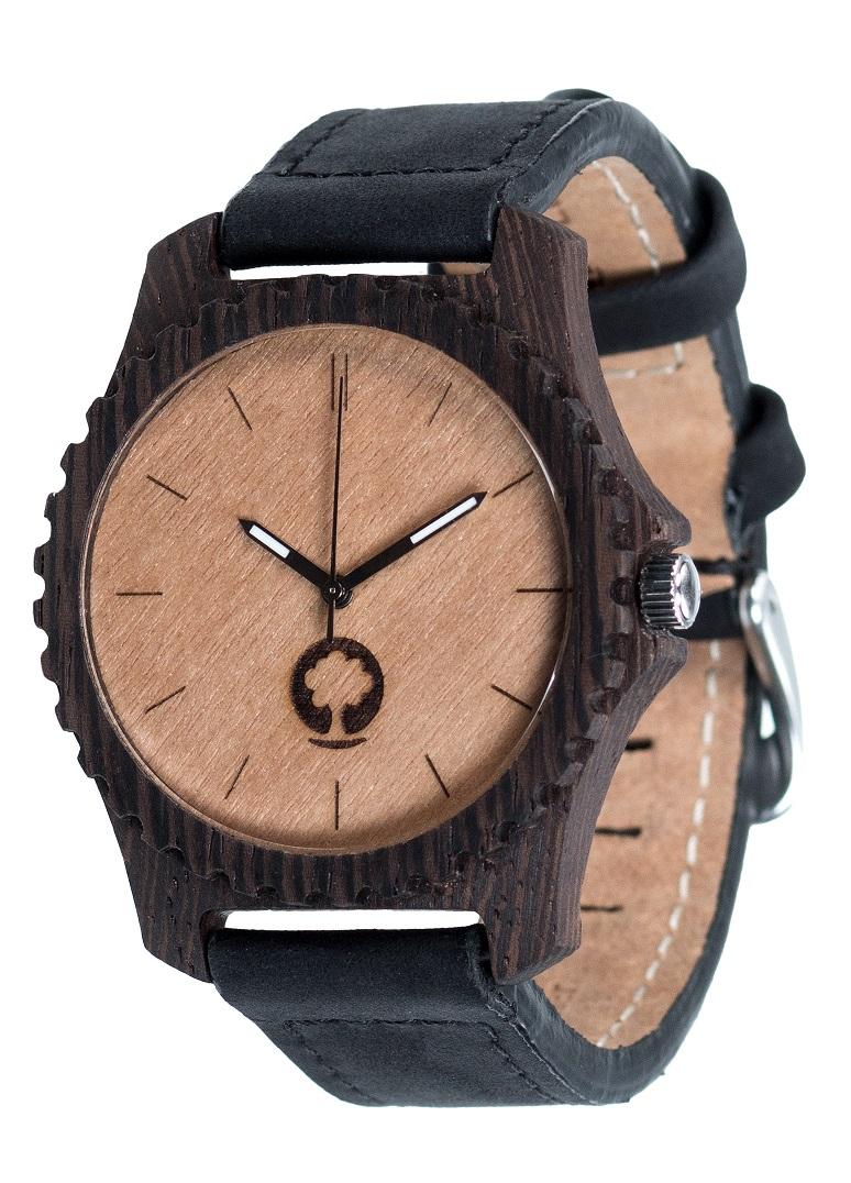 Drewniany zegarek Urban Ebony 2