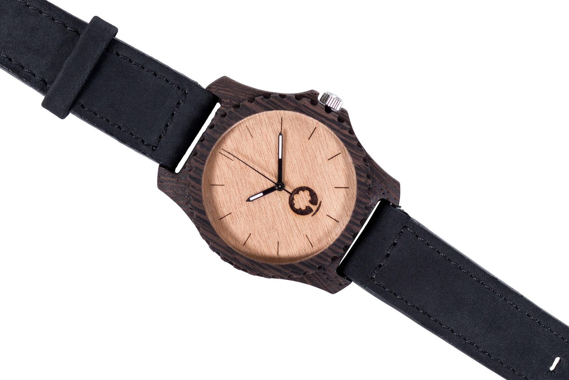 Drewniany zegarek Urban Ebony 3