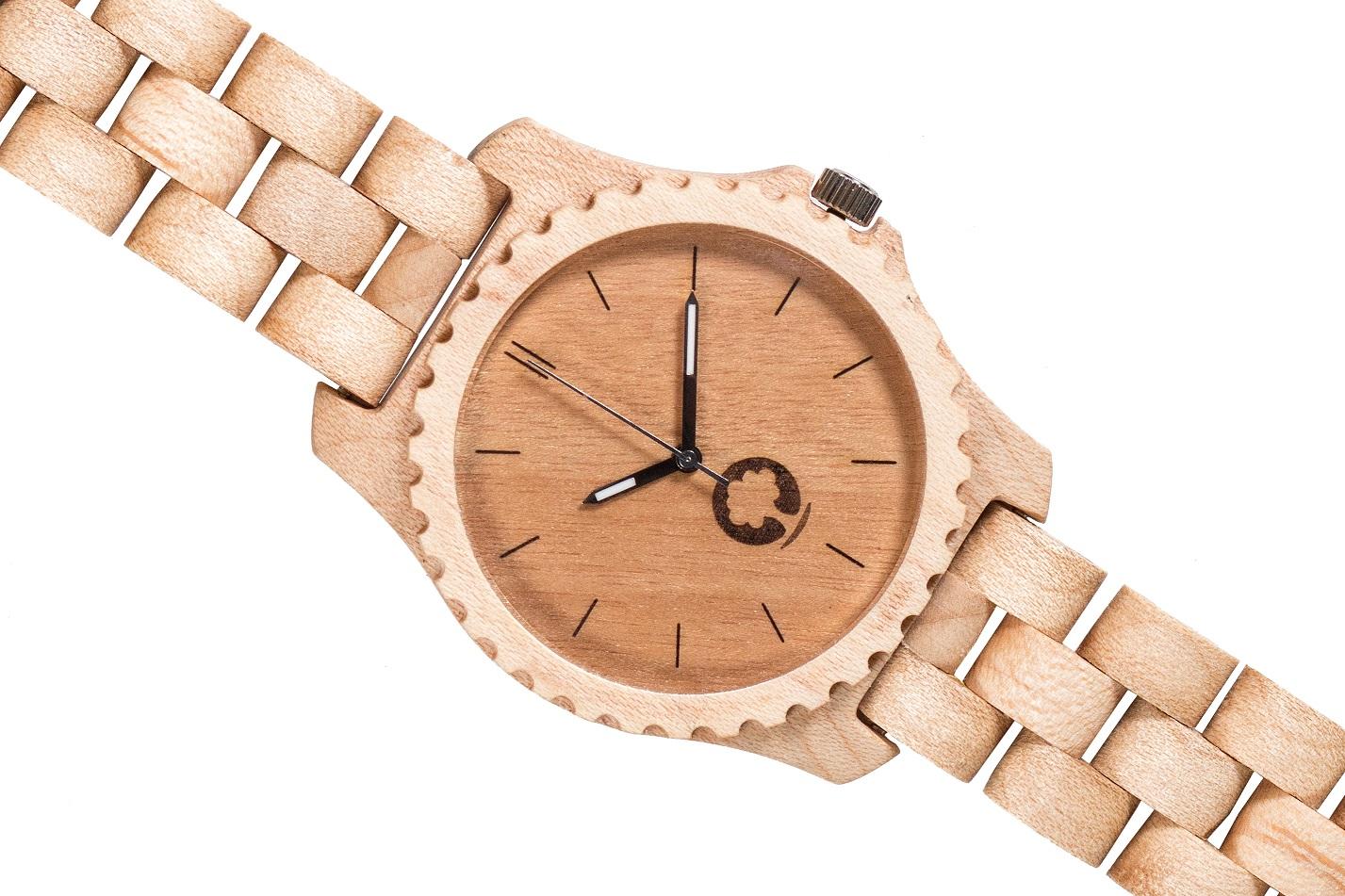 Drewniany zegarek Urban Maple 3
