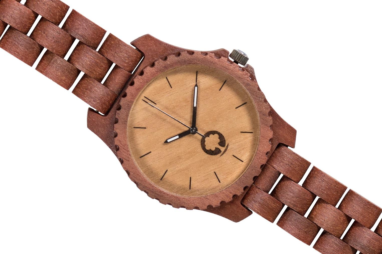Drewniany zegarek Urban Massaranduba 3
