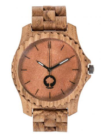 drewniany zegarek Urban Dąb