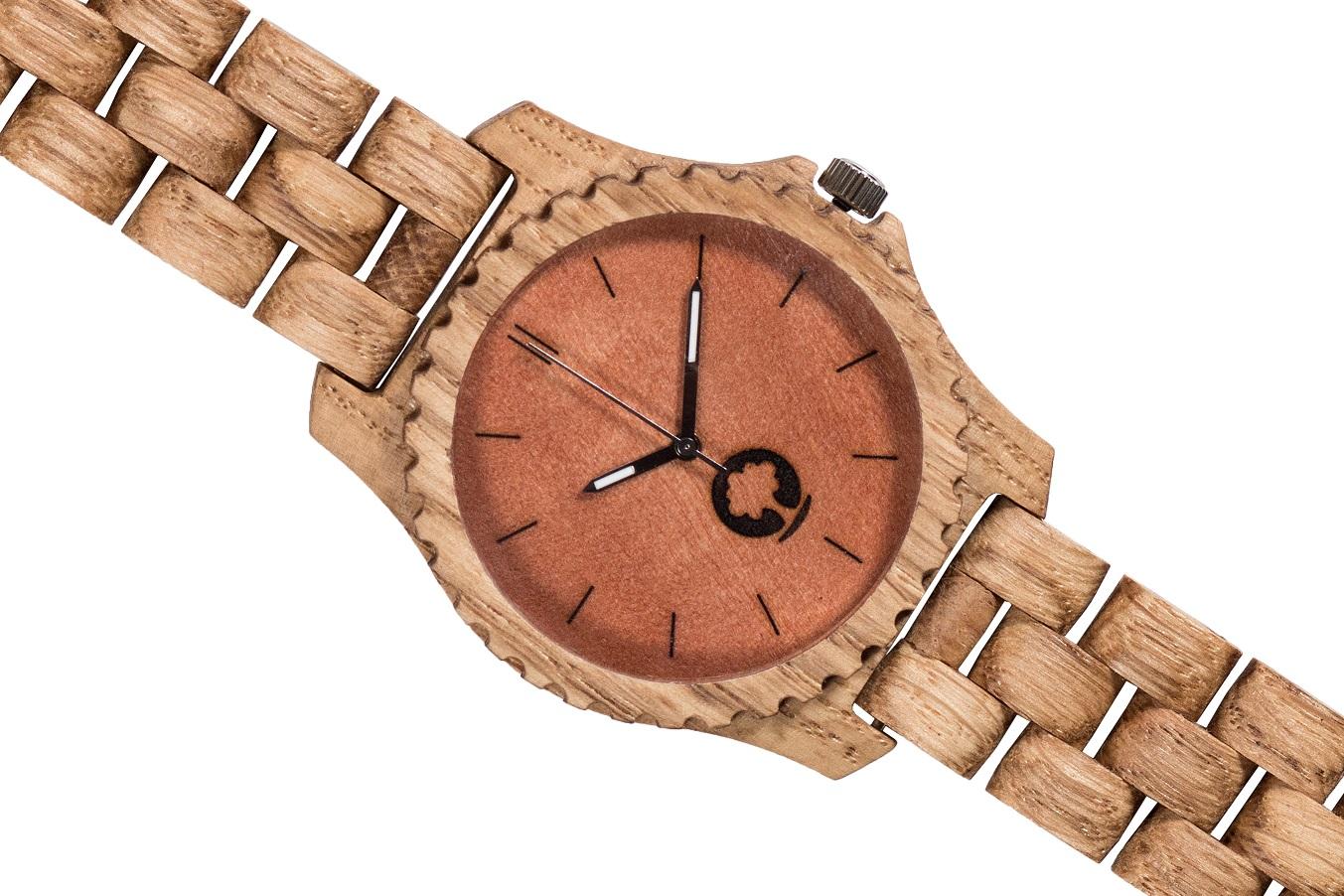Drewniany zegarek Urban Oak 3