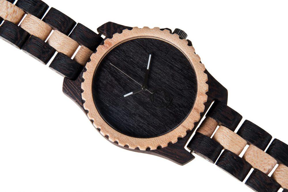 Drewniany zegarek Urban Series – Black & White 3