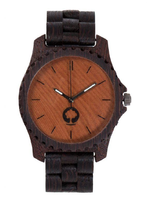 Drewniany zegarek Urban Wenge 1