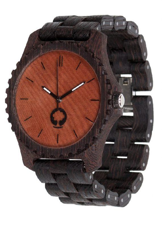 Drewniany zegarek Urban Wenge 2