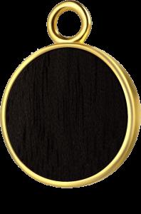 Koło złoto czarny klon
