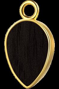 Łezka złoto czarny klon