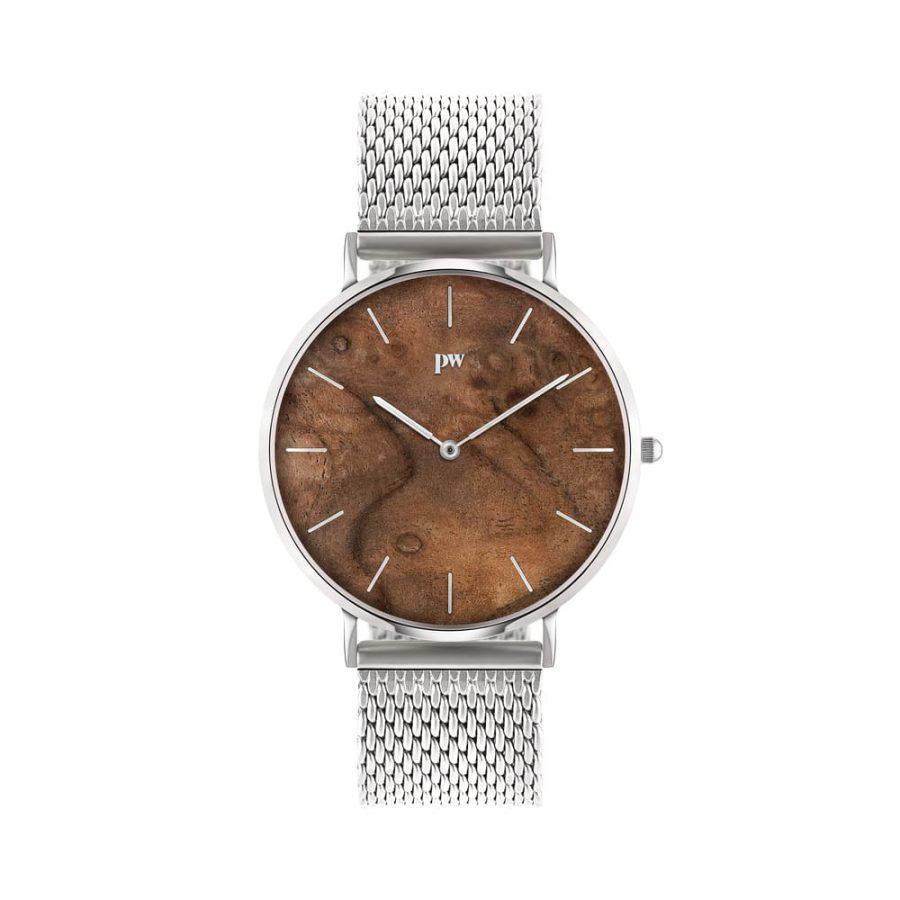 zegarek kolekcja blend Czeczota silver srebrna bransoleta metalowa