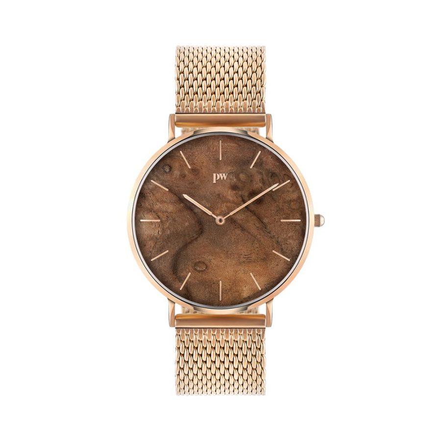 zegarek kolekcja blend Czeczota Rose gold złota bransoleta metalowa