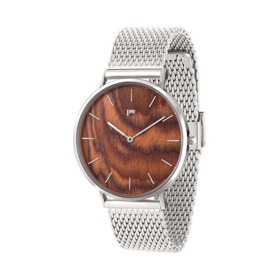 zegarek kolekcja blend Muscato Silver srebrna bransoleta metalowa