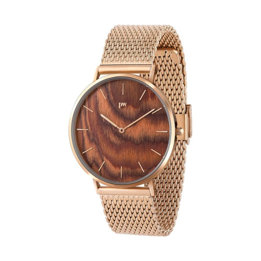 zegarek kolekcja blend muscato rose gold metalowa bransoleta złota