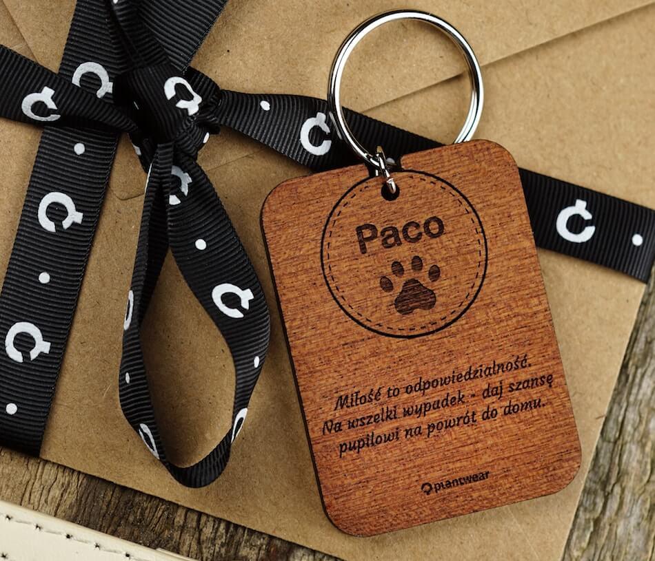 adresówki dla psa ikota plantwear