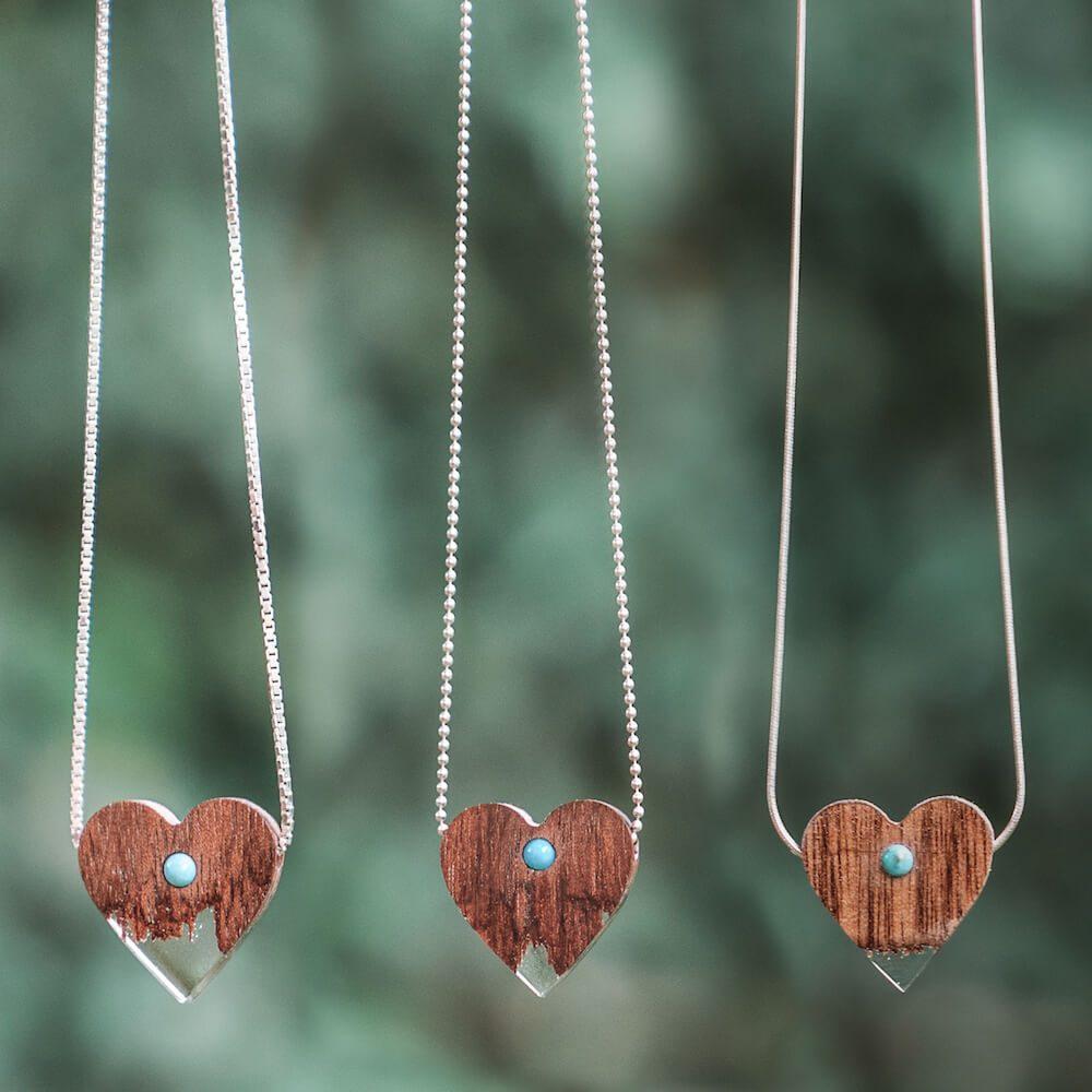 drewniane naszyjniki lancuszki (1)