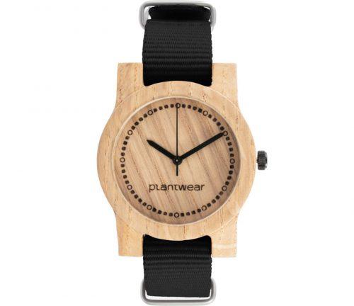 drewniany zegarek basic mini