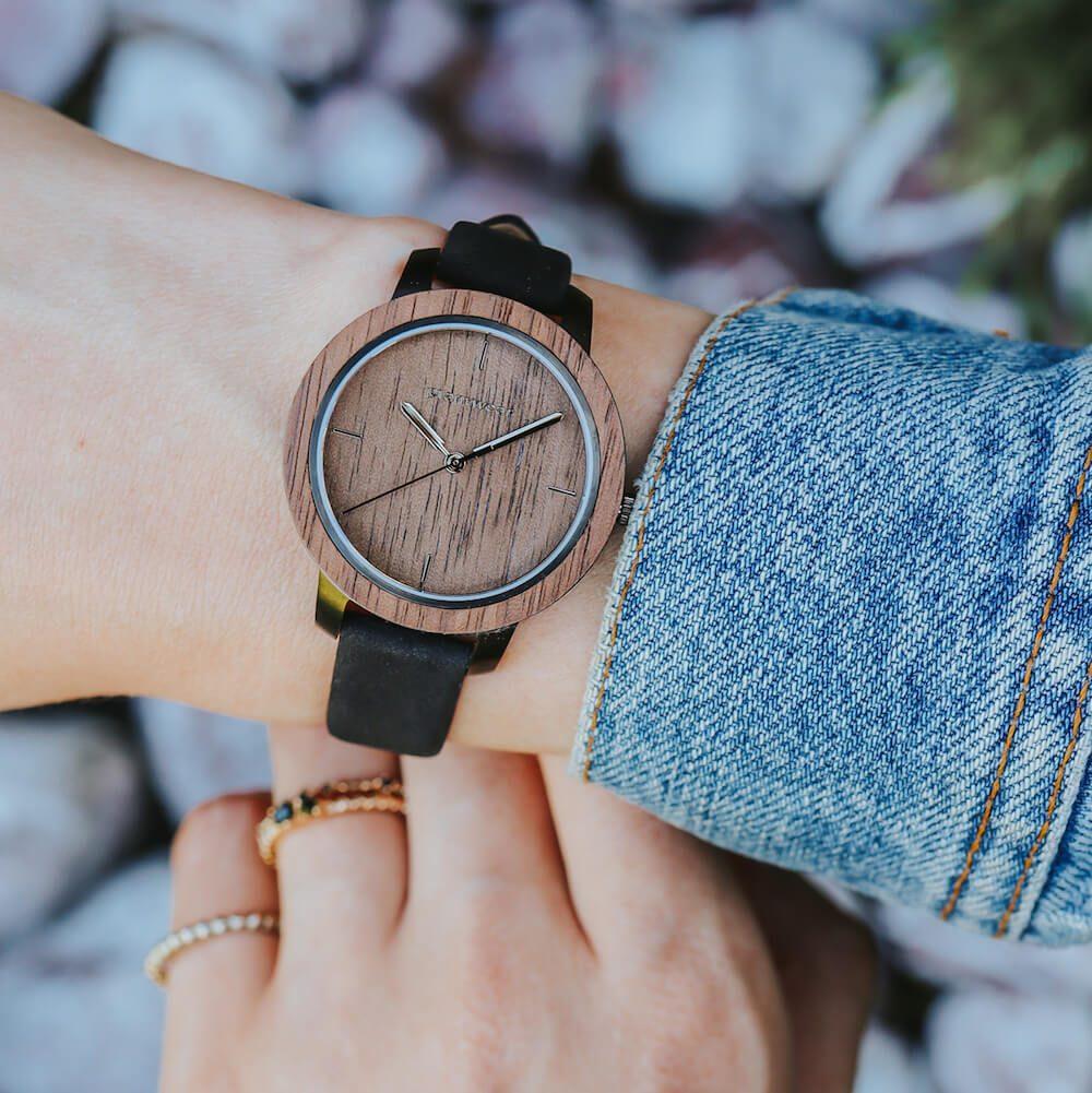 drewniany zegarek damski plantwear fusion dusk mini2