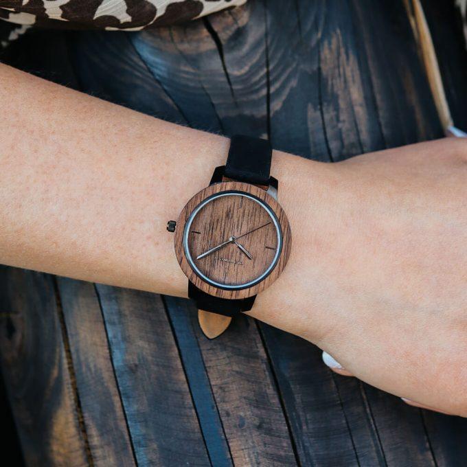 drewniany zegarek damski plantwear fusion dusk mini3