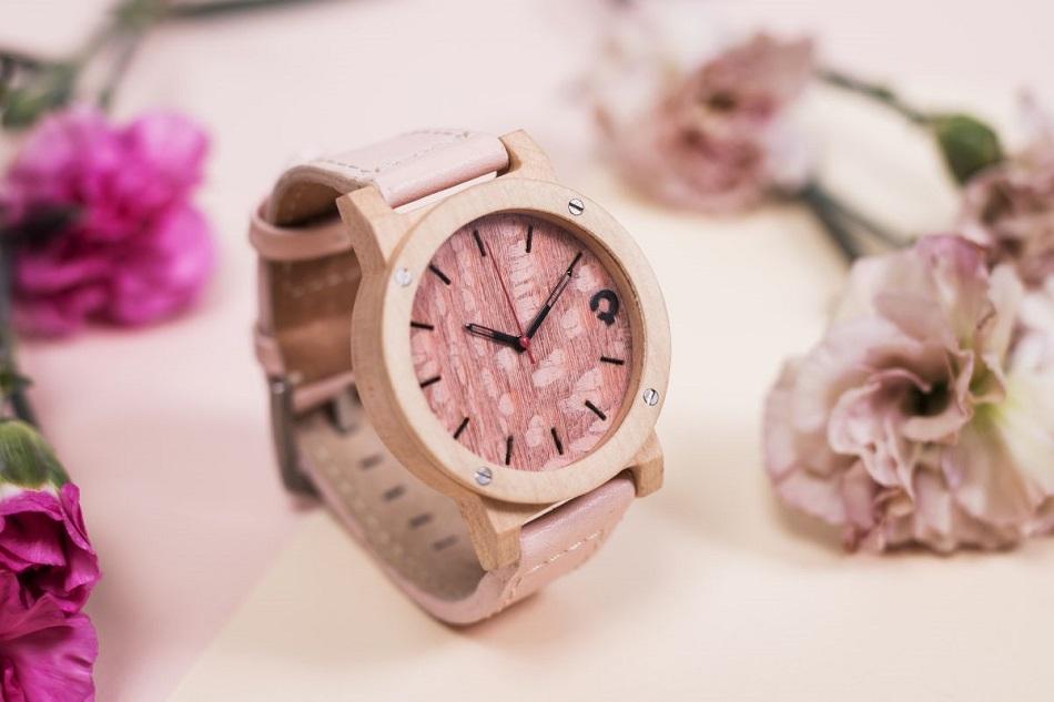 zegarek flake rose