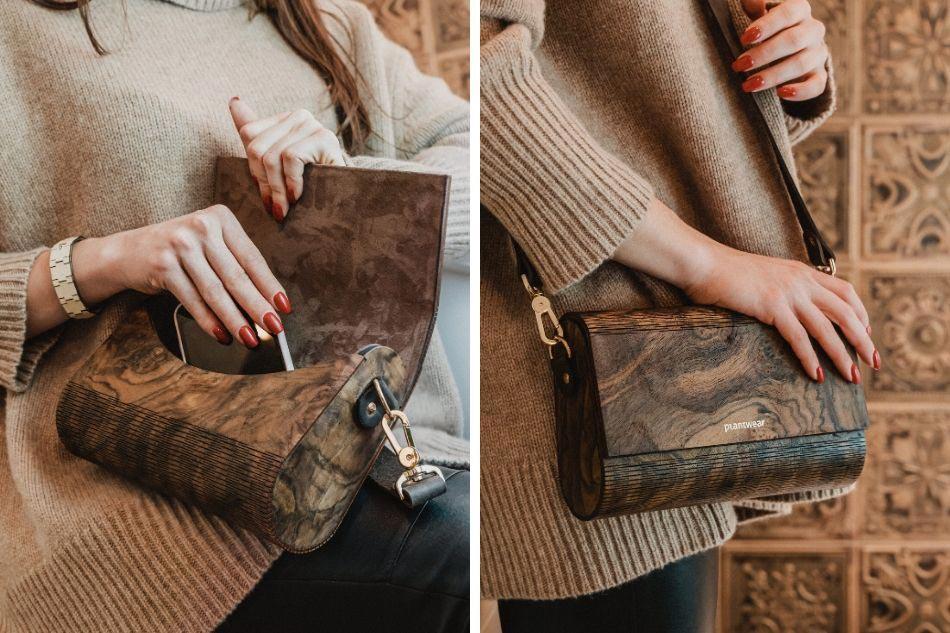 torebki z drewna