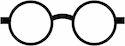 okulary drewniane oval