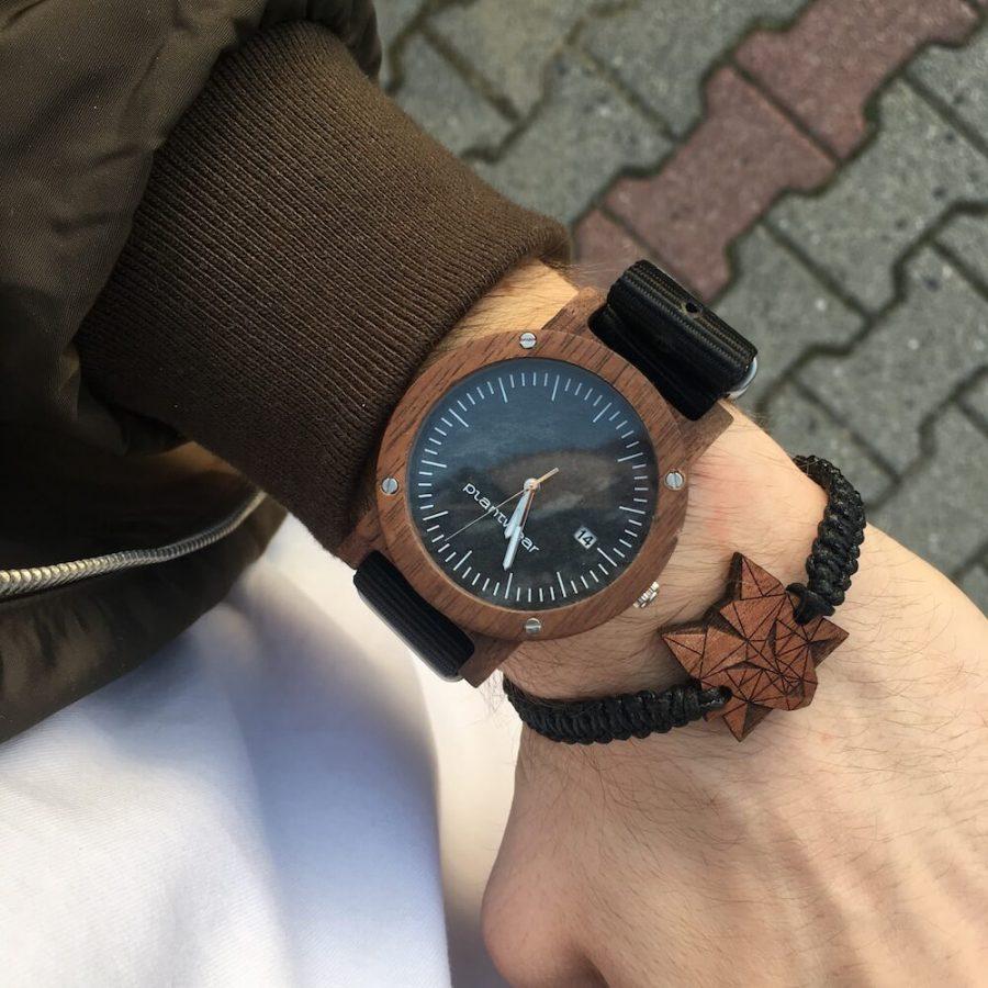 zegarek raw palisander