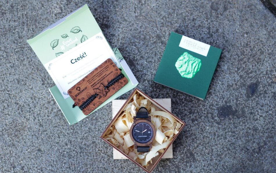plantwear zegarek bransoletki