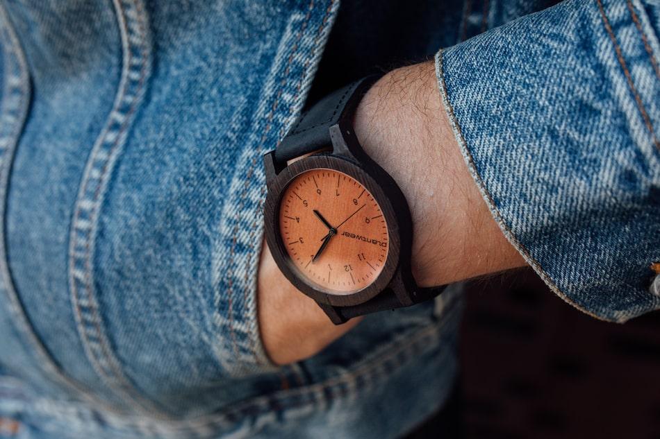 drewniany zegarek prezent dzień chłopaka