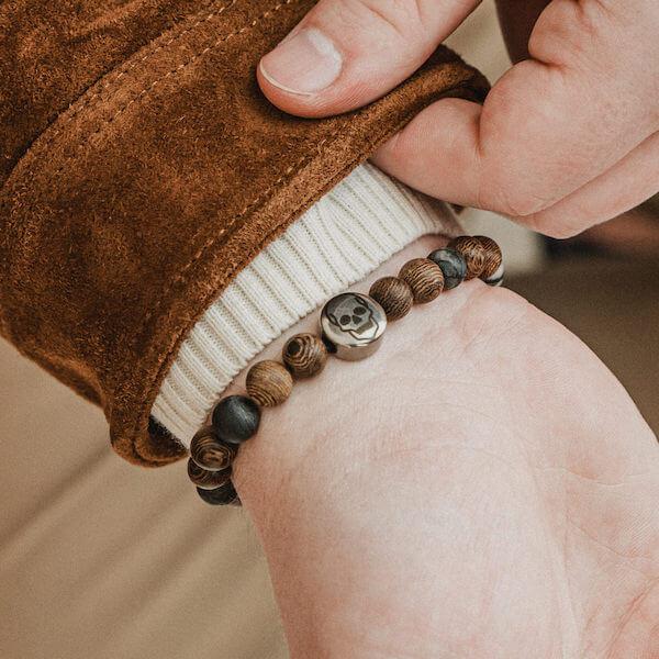 personalizowana bransoletka wood