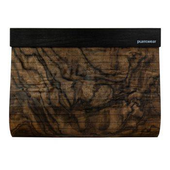 drewniana torebka kopertówka czeczota orzechowa
