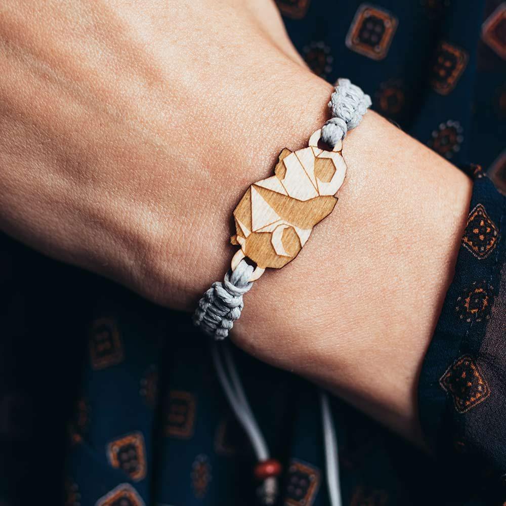 bransoletka Plantwear, bransoletka panda