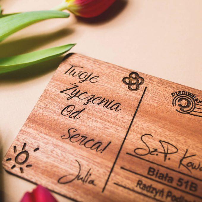 personalizowany prezent, kartka z twoim tekstem, kartka na dowolną okazję