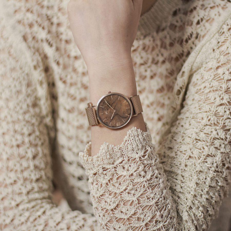 zegarek kolekcja blend czeczota rose gold