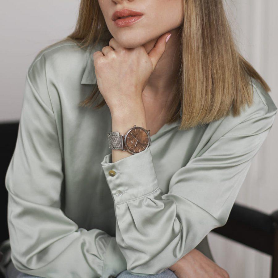 Zegarek Kolekcja Blend - Czeczota - Silver