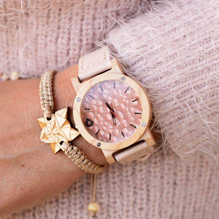 zestaw dla niej zegarek i bransoletka