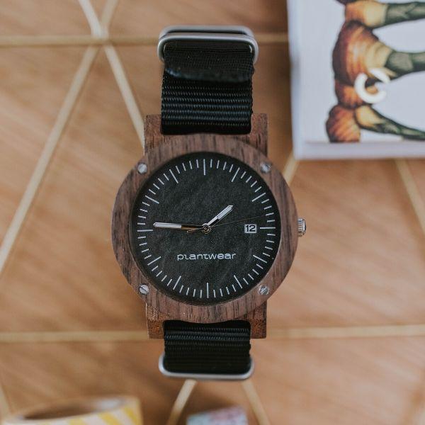 zegarek na rękę raw palisander Plantwear