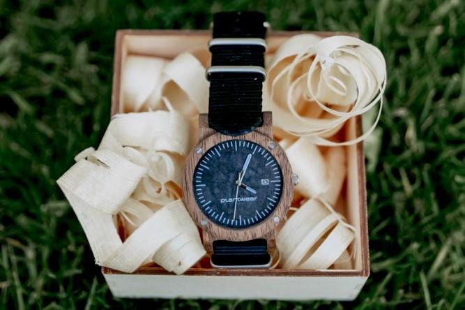 drewniane zegarki Plantwear, raw palisander