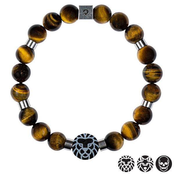 bransoletka z kamieni tygrysie oko