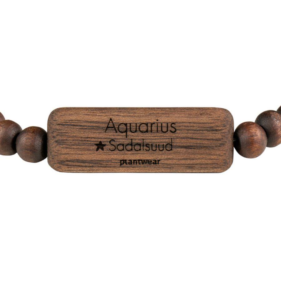 bransoletka ze znakiem zodiaku wodnik