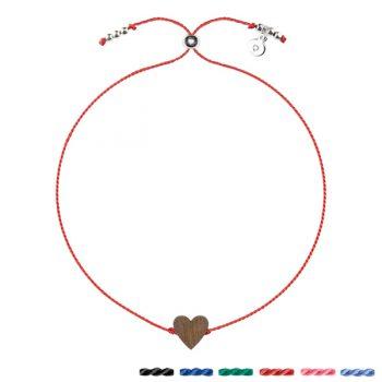 bransoletka szczęścia serce