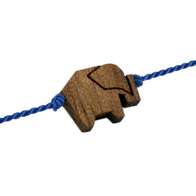 bransoletka szczęścia słonik
