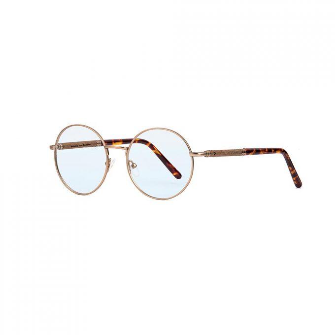 korekcyjne, metalowe okulary